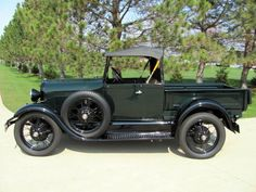 '29 Roadster Pickup/helped a friend restore one of these with a rocky mountain rear axle   :)
