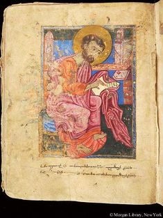 Gospel book, MS M.620 fol. 119v - Images from Medieval and Renaissance Manuscripts - The Morgan Library & Museum
