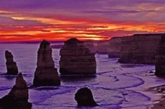 Port Campbell, #Australia: The Twelve Apostles--- nothing really to do with the clan but it is Port Campbell!