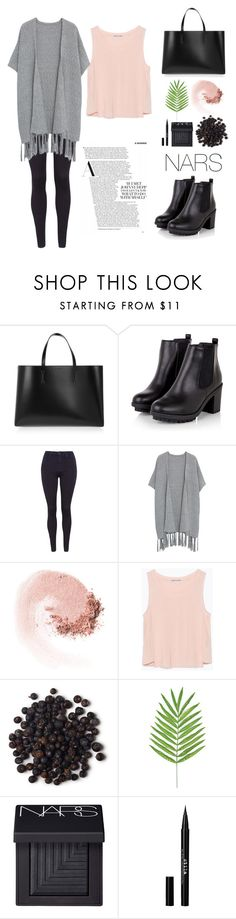 """""""A hint of gossip"""" by maddiegbilly ❤ liked on Polyvore featuring mode, Marni, 7 For All Mankind, Violeta by Mango, NARS Cosmetics, Zara et Stila"""