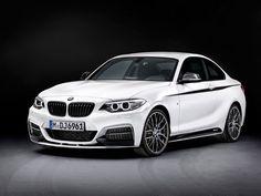 Ook BMW 2-serie Coupé voorzien van M-Performance spulletjes