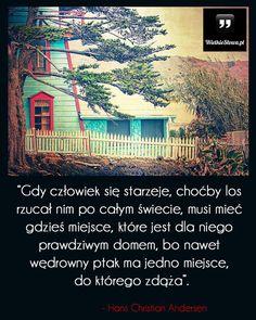 Gdy człowiek się starzeje... #Andersen-Hans-Christian, #Dom, #Starość, #Życie