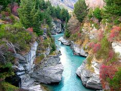 "The real ""fairy pools"" in ""Scotland"" which is actually Shotover River in New Zealand. Even more beautiful I reckon"