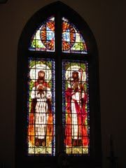 Photo of Lisboa - Igreja de Stº Condestável, Vitral de Almada Negreiros, 2012Jan