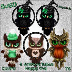 ScrapGrafikShop: CU/PU Happy Qwl 2