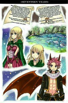Doujinshi Fairy Fail - six years nalu - Wattpad Natsu Fairy Tail, Art Fairy Tail, Fairy Tail Amour, Fairy Tail Comics, Fairy Tail Love, Fairy Tail Guild, Fairy Tail Ships, Fairy Tail Anime, Fairy Tales