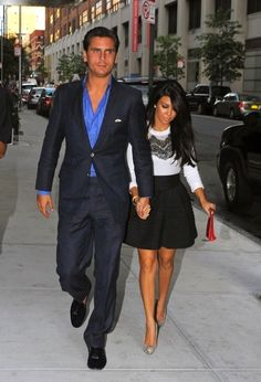 Love the outfits! | Scott Disick Suits