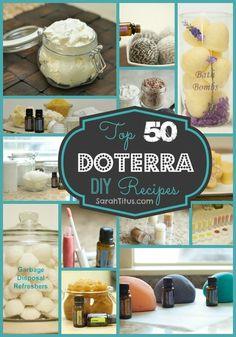 Top 50 DoTerra DIY Recipes
