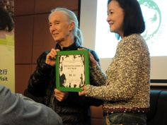 Dr. Jane Goodall has devoted her post-academic life to making herself available to younger generations. Her constant travels bring her to Shanghai occasionally, especially to work with Roots & Shoots.