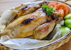 Salt Baked Chicken by Sherson Lian