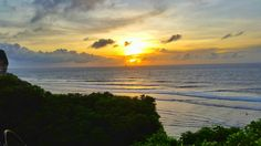 Sunset from bali ♡