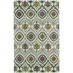 cool Hand-tufted de Leon Boho Green Rug (8' x 10') Check more at http://yorugs.com/shop/hand-tufted-de-leon-boho-green-rug-8-x-10-2/