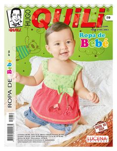 Revista Hugo Quili Ropa de Bebe No. 59