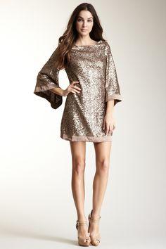 Angelene Gold Dress