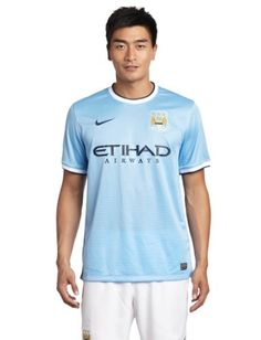 23 best clothing jerseys images football shirts, football  nike 2013 14 manchester city home soccer replica jersey (m) on