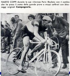 Parigi-Roubaix 1950. Fausto Coppi