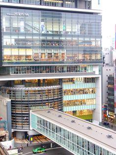 Hikarie, Shibuya, Tokyo Tokyo Japan Travel, Go To Japan, Shibuya Tokyo, Tokyo Tour, Tokyo City, Have A Nice Trip, Glass Facades, Facade Design, Architect Design