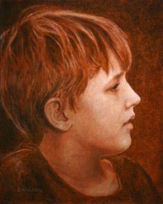 Artist Lisa Larrabee's Portrait Paintings in Oil