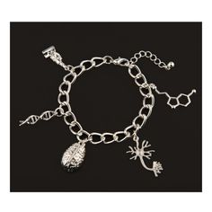 """Ifls Biology charm bracelet Great nerdy present in perfect condition never used from the """"I f-ing love science"""" fan store Jewelry Bracelets"""