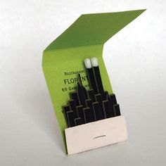 coolest matchbook ever.