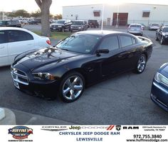 #HappyAnniversary to Paulina Alvarado on your 2013 #Dodge #Charger from Everyone at Huffines Chrysler Jeep Dodge Ram Lewisville!