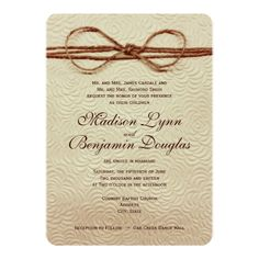 Vintage Rustic Country Wedding Invitations #rustic #country #wedding http://www.zazzle.com/vintage_rustic_country_wedding_invitations-161853811247991339?rf=238133515809110851&tc=PinterestMsPlnr