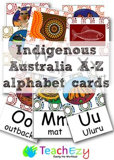 We have removed some of our book activities while we are seeking further permission from authors. Aboriginal Art For Kids, Aboriginal Symbols, Aboriginal Education, Indigenous Education, Aboriginal History, Aboriginal Culture, Alphabet Display, Alphabet Cards, Emergent Literacy
