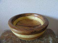 Taça (Diâmetro 18cm) - Sapelli e pinho (Torneado por Alberto Freire)