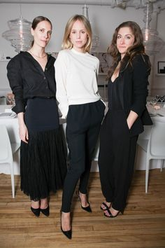 Vanessa Traina Snow, Elin Kling en Morgan Wendelborn