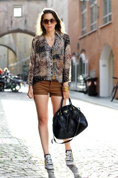 #fashion #fashionista Irene fantasia marrone