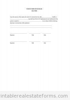 free contract in form of earnest money or deposit receipt seller