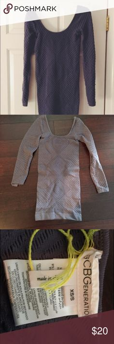 BCBG GENERATION DRESS BCBGeneration grey Bodycon dress. Great condition. Size XS/S Make me an offer! BCBGeneration Dresses