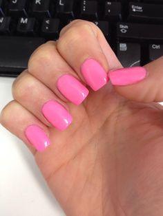 hot pink sns nails   nails in 2019  nails sns nails