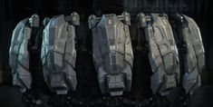 ArtStation - Exo Backpack - Call of Duty: Advanced Warfare, Andrew Catron