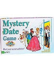 Mystery Date Game - remember nobody wanted to get the scruffy looking guy.