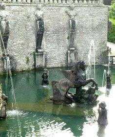 Curious Places: Villa Lante water gardens (Bagnaia, near Viterbo/ Italy)