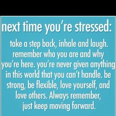 remember this during stressful school times...so basically every day haha