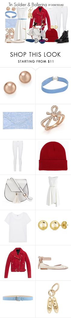 """""""Tin Soldier & Ballerina"""" by leslieakay ❤ liked on Polyvore featuring Bloomingdale's, Michael Kors, Frame, NLY Accessories, Yoki, Chicwish, Splendid, BERRICLE, Andrew Marc and Disney"""