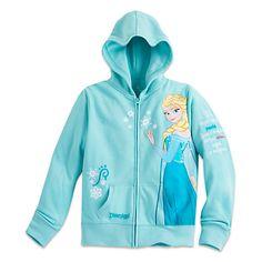 Elsa Hoodie for Girls - Disneyland   Disney Store