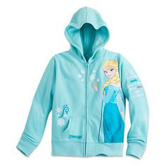 Elsa Hoodie for Girls - Disneyland | Disney Store