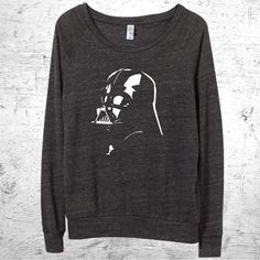 Hey, I found this really awesome Etsy listing at https://www.etsy.com/listing/219680177/star-wars-shirt-womens-slouchy-pullover