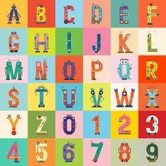 TESLA Typeface - A to Z on Behance