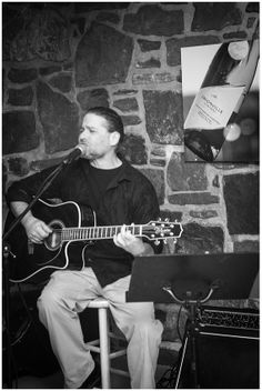 Acoustic Rock during a private event in the Cave Room.