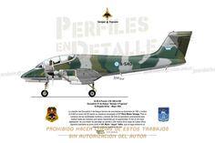 "IA-58 A Pucará- C/N: 040 A-540 Escuadrón IV de Ataque ""Semper 4 Pugnans"" IX Brigada Aérea - Mayo 1982 Falklands War, Military Love, Fighter Pilot, Aviation Art, Guns And Ammo, Armed Forces, Military Aircraft, Warfare, Airplanes"