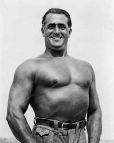 Charles Atlas Vintage 1930s 8x10 Reprint Of Old Photo