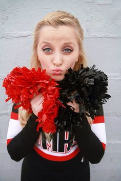 My 2014 Junior year Football cheer pictures that my brother took.