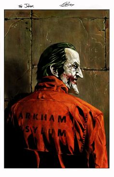 The Joker by Garry Brown *