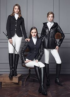 Michael and Kenzie produces cutting edge fierce fashion for both male and female equestrians. #stylemyride #fashion #equestrianfashion #equestrian #michaelandkenzie #breeches #huntcoat #coat