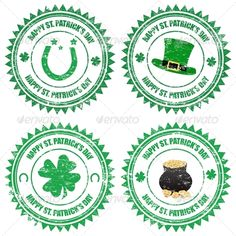 Need of St Patrick Day stamps? Send us your design asap!