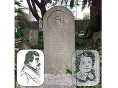 Charles and Belle Cora, San Francisco's first star-crossed lovers, are buried in a quiet corner of Mission Dolores cemetery. (Paul Drexler/Special to S.F. Examiner)